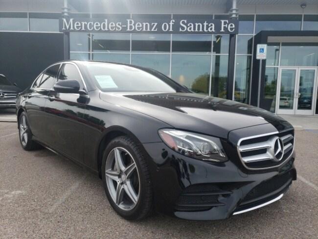Used  2017 Mercedes-Benz E-Class E 300 4MATIC Sedan For Sale Santa Fe, NM