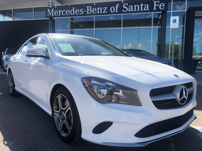 Used  2018 Mercedes-Benz CLA 250 4MATIC Coupe For Sale Santa Fe, NM
