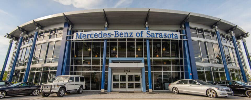 Exterior view of Mercedes-Benz of Sarasota