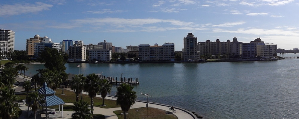 View of Sarasota, FL