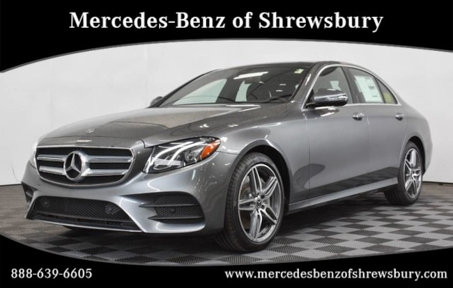New 2019 Mercedes-Benz E-Class E 450 4MATIC Sedan Near Natick