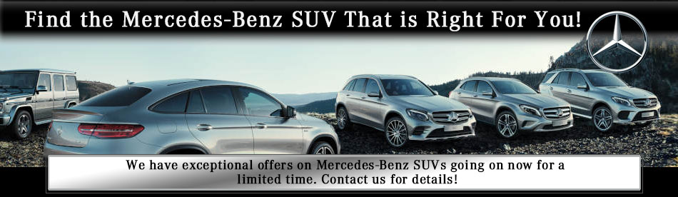 Charming New SUV Specials At Mercedes Benz Of Shrewsbury