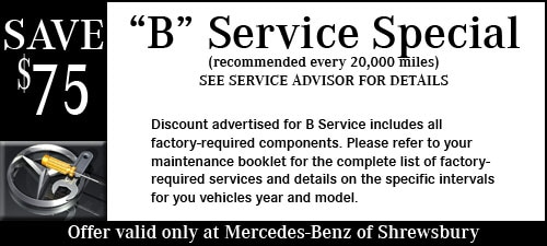 Mercedes benz of shrewsbury new mercedes benz dealership for Mercedes benz service b coupons
