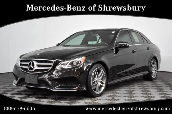 Used 2016 Mercedes-Benz E-Class E 350 Sport Sedan Near Natick