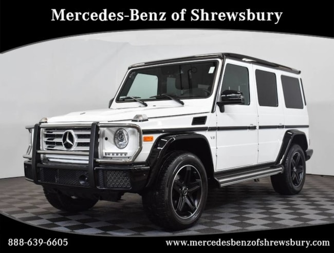 Used 2018 Mercedes-Benz G-Class G 550 SUV Near Natick