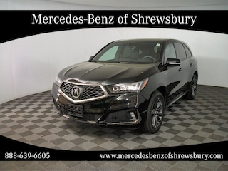 used 2020 Acura MDX Technology & A-Spec Packages SUV for sale near boston