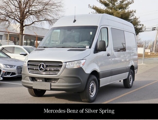 2019 Mercedes-Benz Sprinter 2500 High Roof V6 Van Crew Van