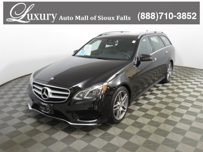 2016 Mercedes-Benz E-Class E 350 4MATIC Luxury Wagon
