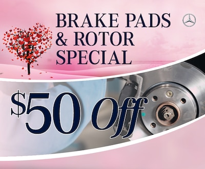 Brake Pads & Rotator Special