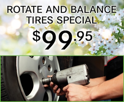 Rotate and Balance Tire Special