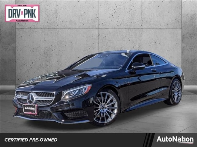 2017 Mercedes-Benz S-Class S 550 4MATIC Coupe