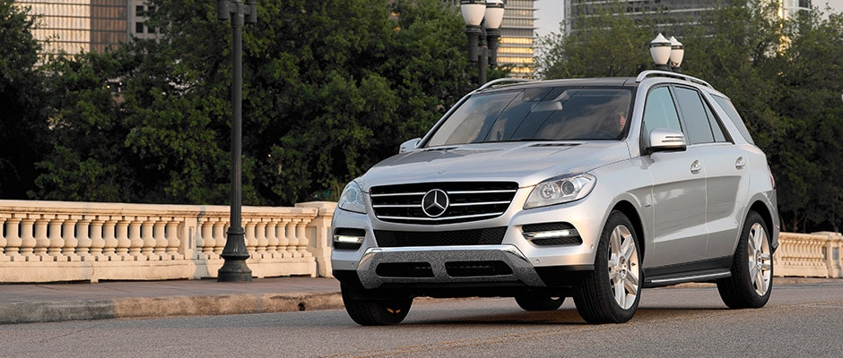 Used 2015 mercedes benz m class for sale in houston at for Mercedes benz dealers houston