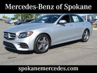 Certified Pre-Owned 2017 Mercedes-Benz E-Class E 300 4MATIC Sedan Liberty Lake, WA