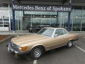 1985 Mercedes-Benz 380 380SL Coupe