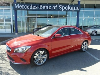 2018 Mercedes-Benz CLA 250 4MATIC Coupe Liberty Lake, WA