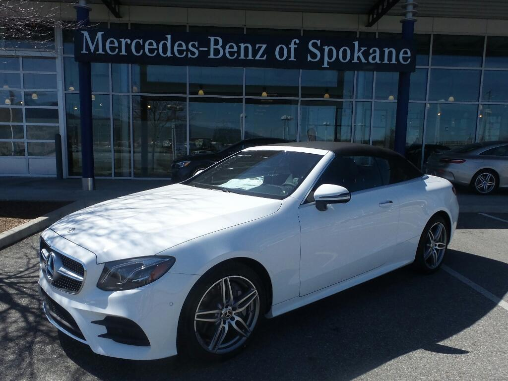 New 2018 Mercedes Benz E Class E 400 4MATIC Cabriolet Liberty Lake, WA