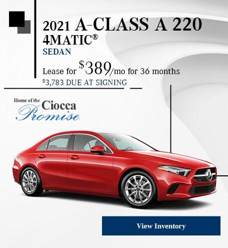 2021 A-Class A 220 4MATIC® Sedan