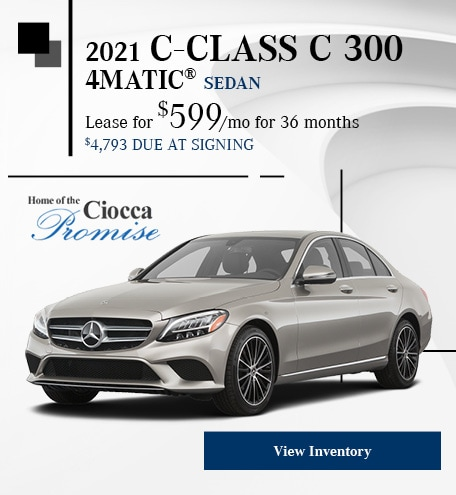 2021 C-Class C 300 4MATIC® Sedan