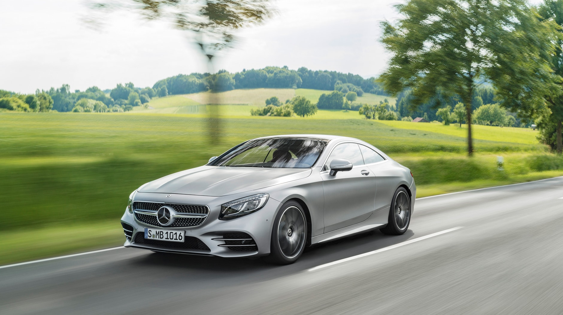 2018 Mercedes Benz S Class Coupe Front