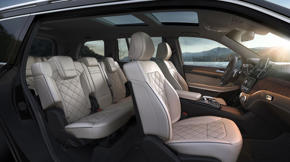 2017 GLS Luxury interior