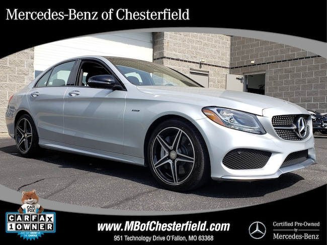 2016 Mercedes-Benz C-Class C 450 AMG 4MATIC Sedan