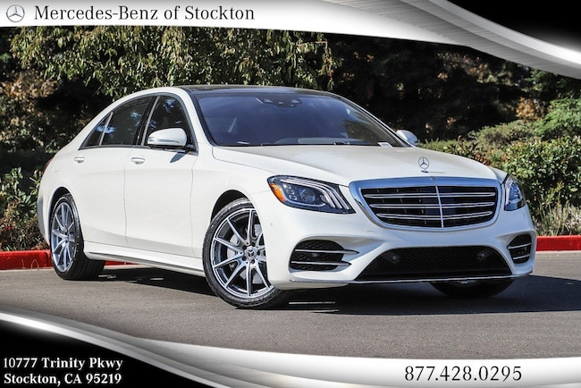 2019 Mercedes-Benz S-Class S 560 Sedan New Mercedes-Benz Car For Sale
