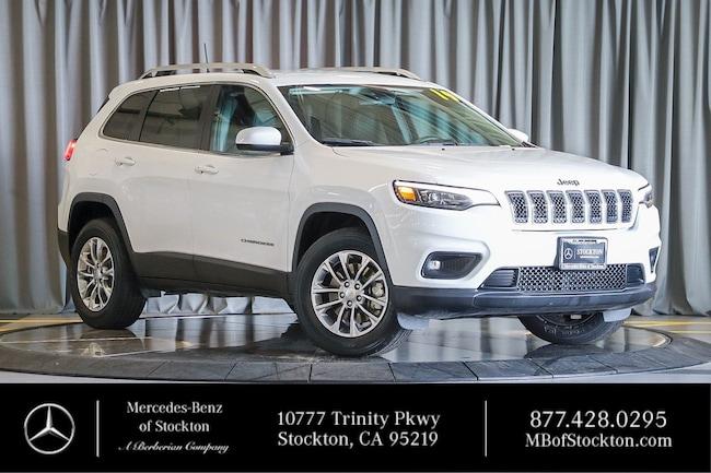 2019 Jeep Cherokee Latitude Plus Latitude Plus 4x4 Used Car For Sale in Stockton California