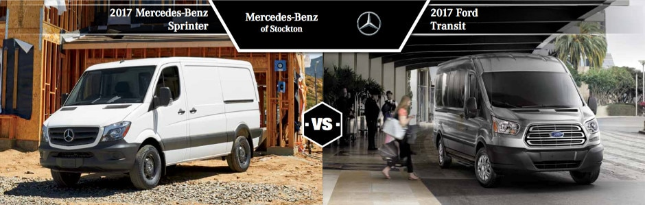 Mercedes Benz Sprinter Vs  Ford Transit In Stockton Ca