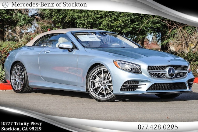 2019 Mercedes-Benz S-Class S 560 Cabriolet New Mercedes-Benz Car For Sale