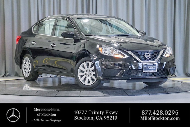 2017 Nissan Sentra SV SV CVT Used Car For Sale in Stockton California