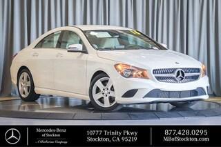 2016 Mercedes-Benz CLA CLA 250 Sedan Certified Mercedes-Benz For Sale in Stockton California
