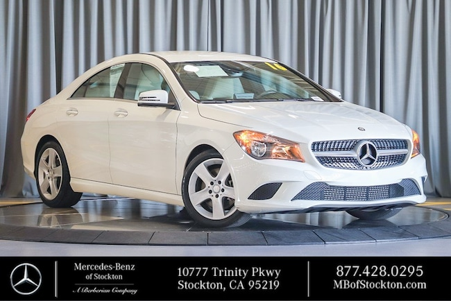2016 Mercedes-Benz CLA CLA 250 Sedan Certified Mercedes-Benz For Sale in Stockton California