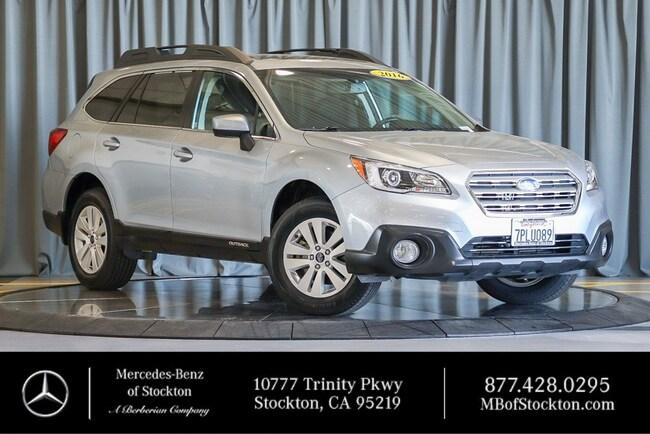 2016 Subaru Outback 2.5i Premium Wagon Used Car For Sale in Stockton California
