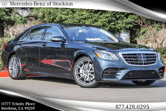 2019 Mercedes-Benz S-Class S 560 4MATIC Sedan New Mercedes-Benz Car For Sale