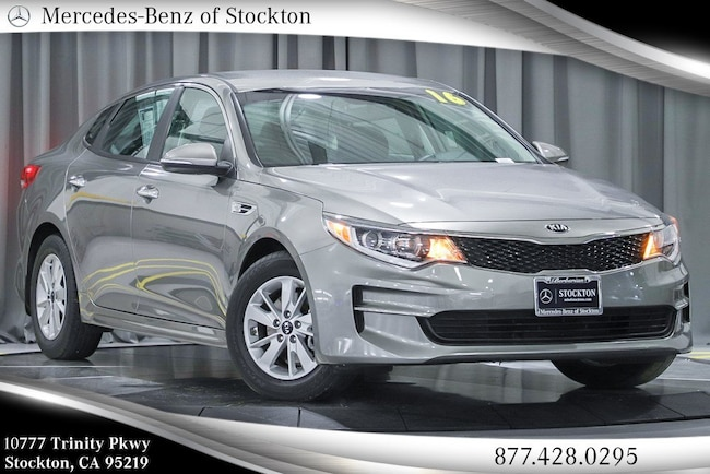 2016 Kia Optima LX Sedan Used Car For Sale in Stockton California