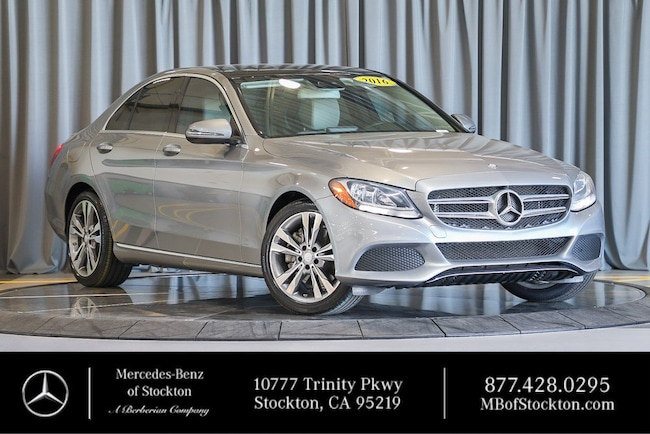 2016 Mercedes-Benz C-Class C 300 Sedan Certified Mercedes-Benz For Sale in Stockton California