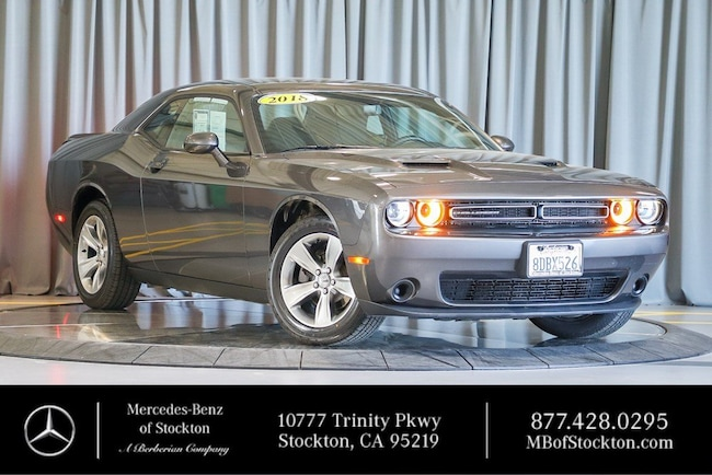 2018 Dodge Challenger SXT SXT RWD Used Car For Sale in Stockton California