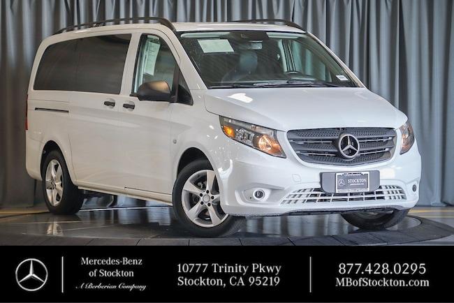 2016 Mercedes-Benz Metris Passenger Van Passenger RWD 126 Used Car For Sale in Stockton California