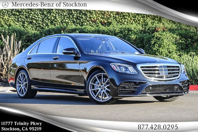 2019 Mercedes-Benz S-Class S 450 4MATIC Sedan New Mercedes-Benz Car For Sale