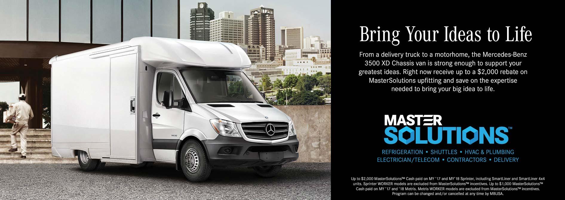 Mercedes Benz Commercial Van Inventory