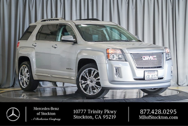 2013 GMC Terrain Denali FWD  Denali Used Car For Sale in Stockton California
