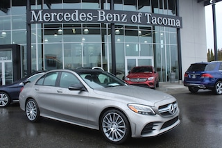 New 2019 Mercedes-Benz C-Class AMG C 43 Car Fife, WA