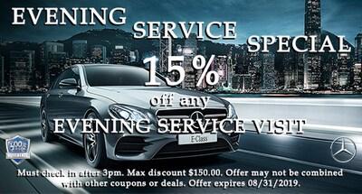 15% OFF Evening Service