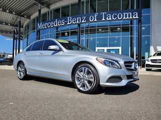 Certified Pre-owned 2018 Mercedes-Benz C-Class C 300 Car in Fife, WA