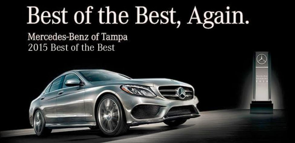 Mercedes Benz of Tampa Best of The Best
