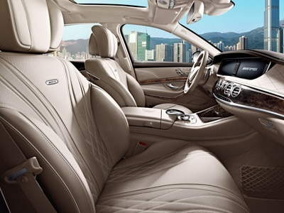 Mercedes S Class AMG Interior