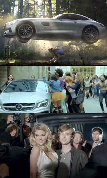 Mercedes Super Bowl Commercials