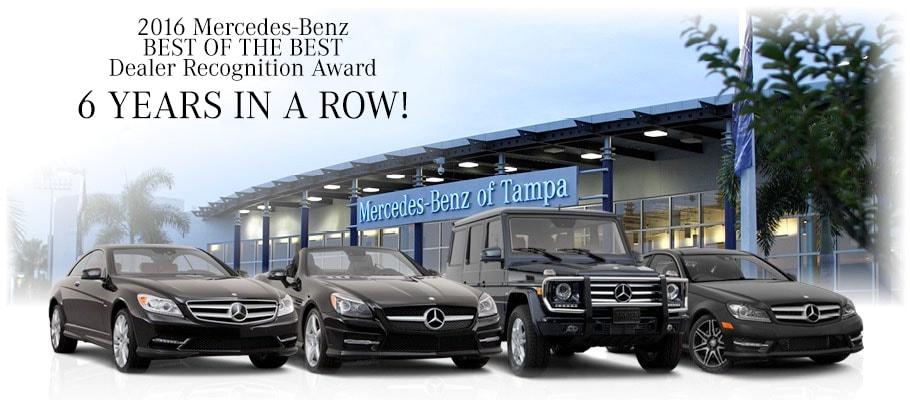 Mercedes benz of tampa best of the best mercedes dealer for Top mercedes benz dealerships
