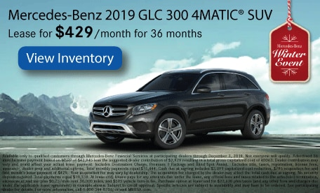 Mercedes-Benz 2019 GLC 300 4MATIC® SUV