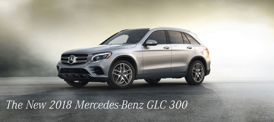 The New 2018 Mercedes-Benz GLC 300